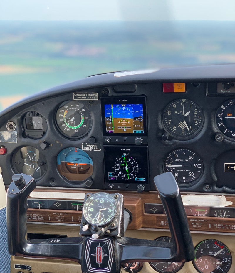 Garmin G5 piper arrow